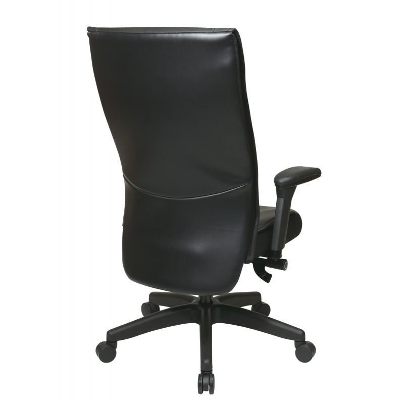 Space Seating Contemporary Leather Executive Chair  (9370-55NC17U)