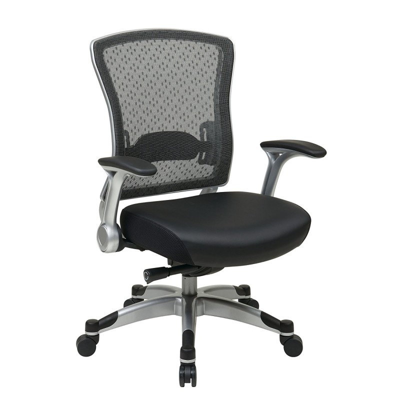 Space Seating R2 SpaceGrid Back Chair with Memory Foam Mesh Seat (529-M3R2N6F2)