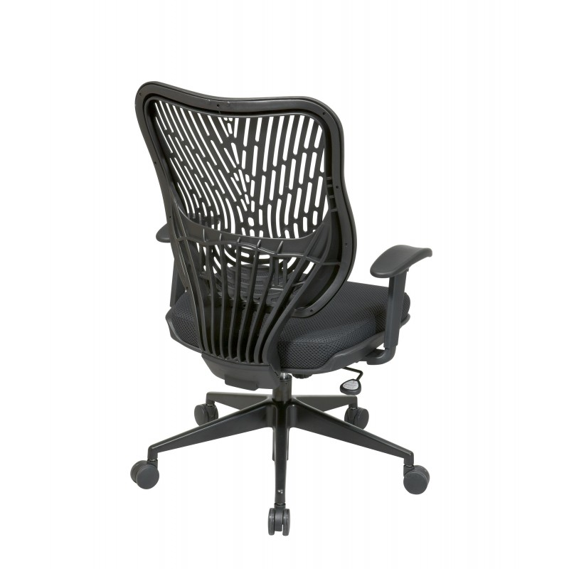 Space Seating Unique Self Adjusting Raven SpaceFlex Back Managers Chair  (88-33BB918P)
