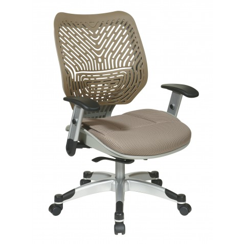 Space Seating Unique Self Adjusting Latte SpaceFlex Back Managers Chair (86-M88C625R)