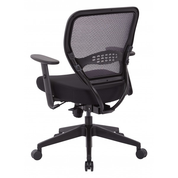 space seating air grid and mesh office chair 5500sl