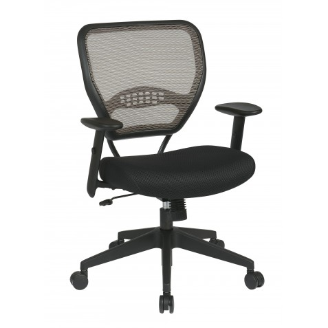 Space Seating Deluxe Latte AirGrid Back Managers Chair (55-38N17)