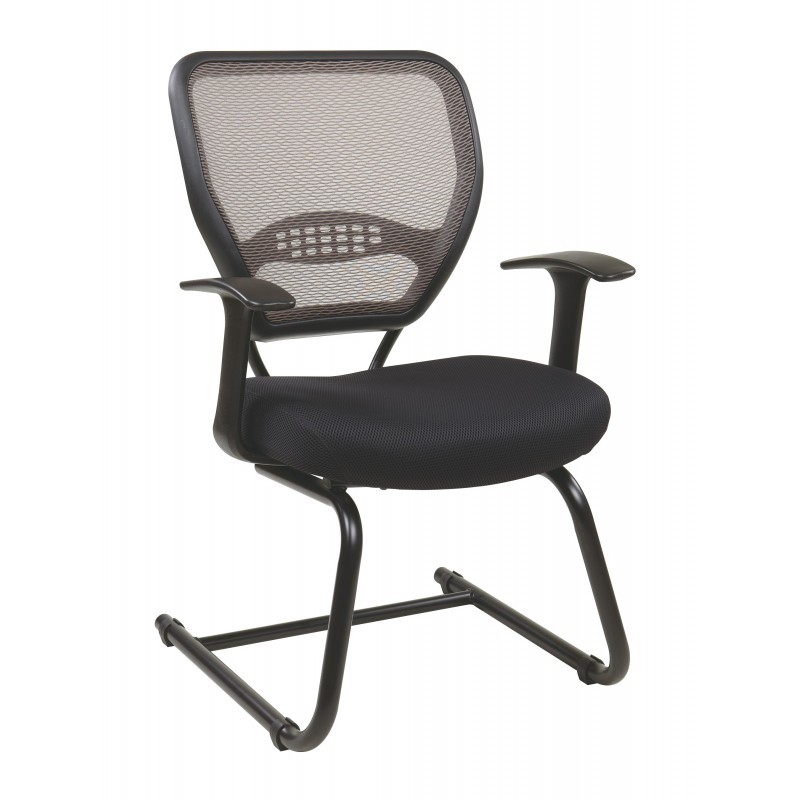 Space Seating Professional Latte AirGrid Back Visitors Chair (55-38V30)