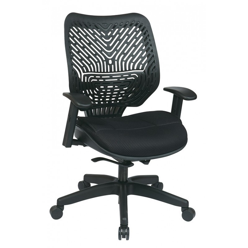 Space Seating Unique Self Adjusting SpaceFlex Back Managers Chair (86-M33BN2W)