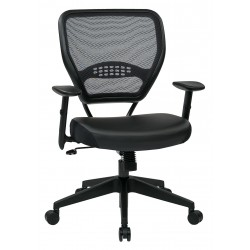 Space Seating Professional Dark AirGrid Managers Chair (5700E)