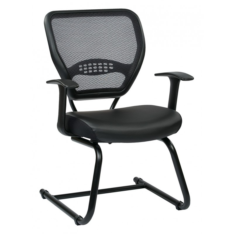 Space Seating Professional Air Grid Visitors Chair (5705E)