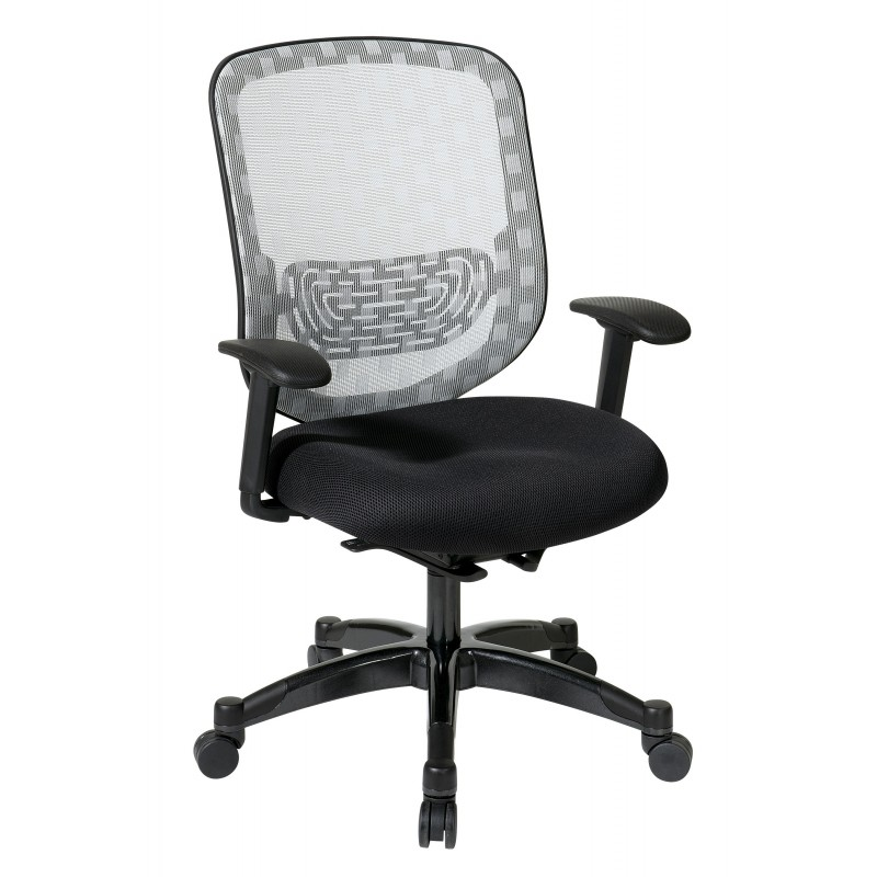Space Seating White Dura Flex With Flow Through Technology Chair (829-3R1C728P)