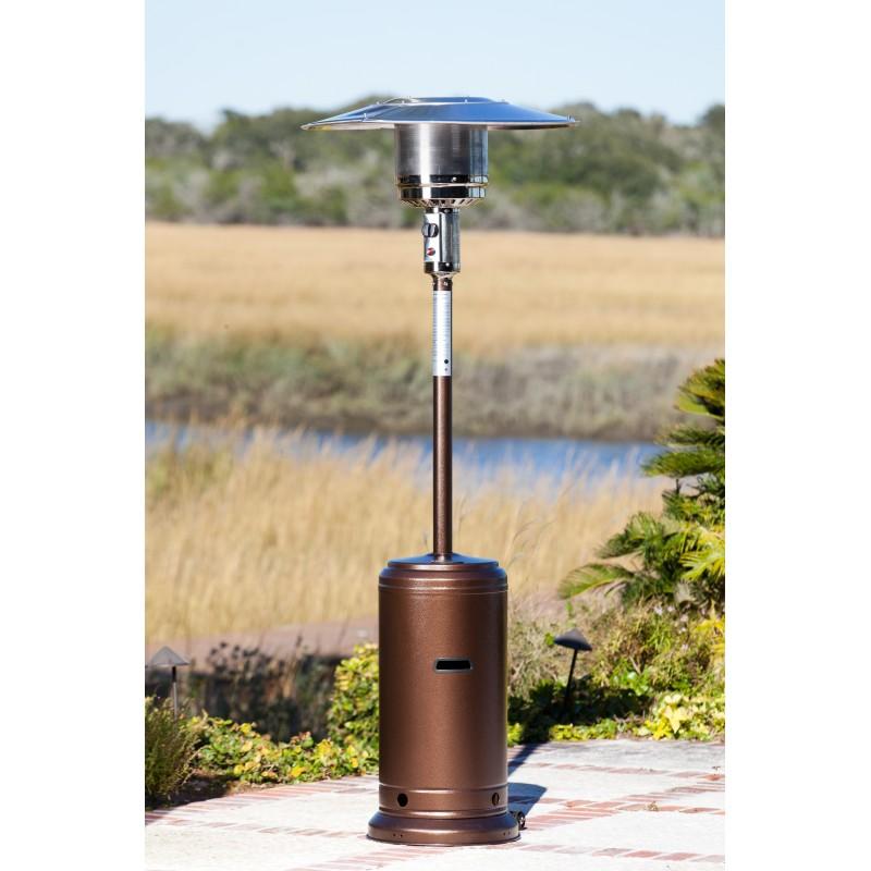 Fire Sense Hammered Bronze Standard Series Patio Heater (61283)