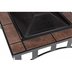 Fire Sense Tuscan Tile Square Fire Pit (60243)