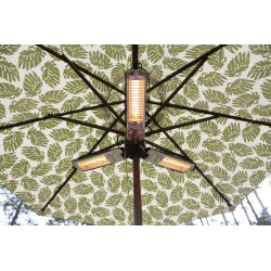 Fire Sense Umbrella Halogen Patio Heater (60404)