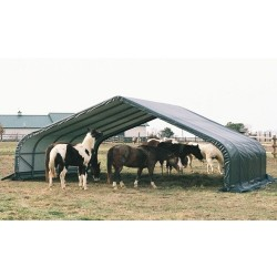 Shelter Logic 22x24x12 Peak Style - Green (58542)