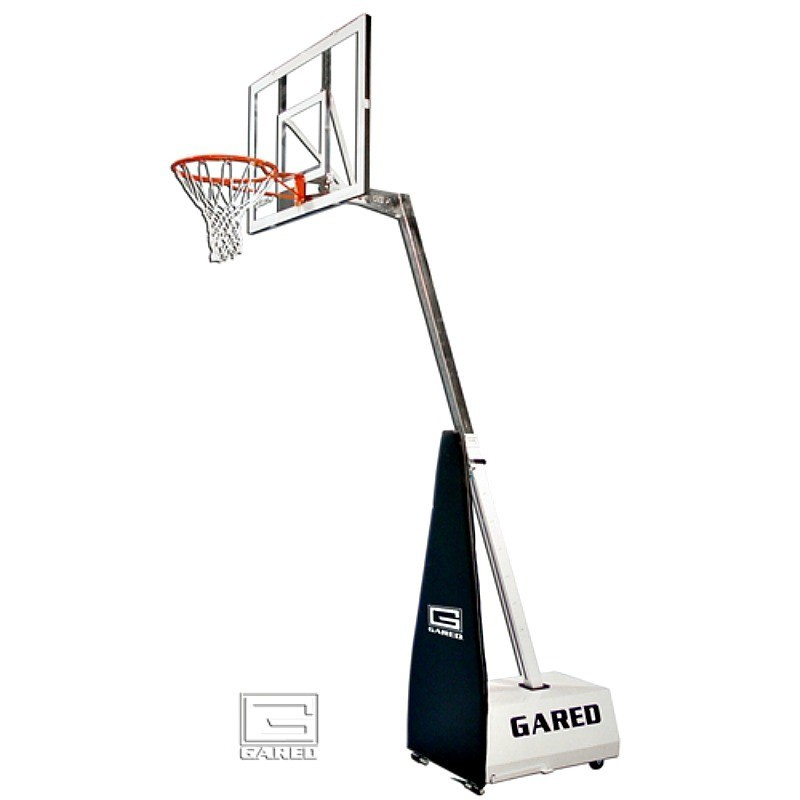 Gared Mini-EZ Roll-Around Basketball System with 3' Boom (MINI-EZ)