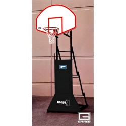 "Gared HOOPS 21, ""3 ON 3"" Height Adjustable Portable Basketball System (9249)"