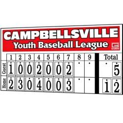 Gared ALPHATEC Non-Electronic Baseball Scoreboard (GS-HN3)