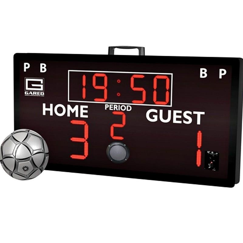 "Gared ALPHATEC 52"" x 28"" Portable Soccer Scoreboard (GS-SK2)"