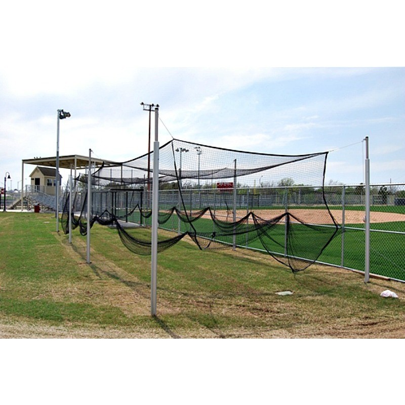 Gared Aluminum Outdoor Batting/Multi- Sport Cage 55' (4085-55)