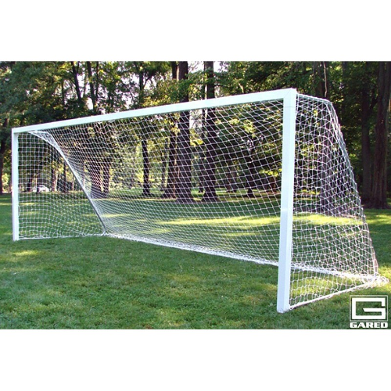 Gared All-Star I Touchline Soccer Goal, 8' x 24', Semi-Permanent, Square Frame (SG14824)