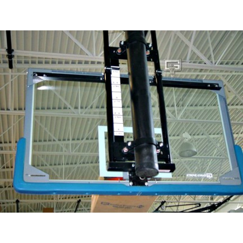 "Gared Electric Adjust-a-Goal Height Adjuster for 6-5/8"" Diameter Single Post for Rectangular Backboard (1172)"