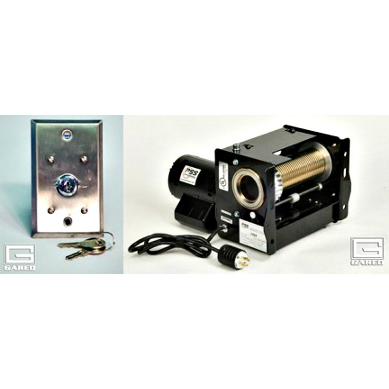 Gared Electric Hoist with Key Switch, 220V (1194-220V)