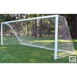 Gared All-Star I Touchline Soccer Goal, 8' x 24', Permanent, Square Frame (SG12824)