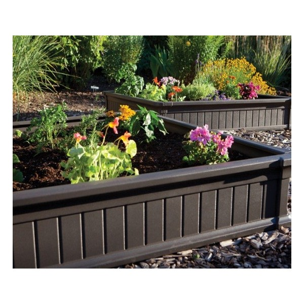 20 Raised Bed Garden Designs And Beautiful Backyard: Lifetime Raised Garden Bed 20 Pack (No Vinyl Enclosures