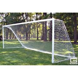 Gared All-Star Recreational Touchline Soccer Goal, 8' x 24' Semi-Permanent Rectangular Frame(SG24824)