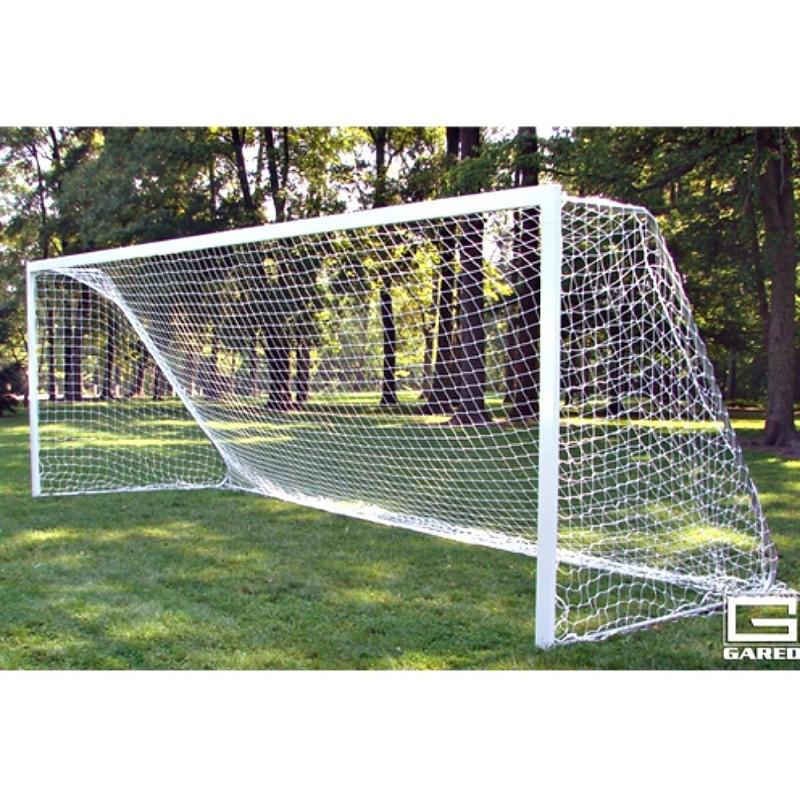 Gared All-Star Recreational Touchline Soccer Goal, 6 1/2' x 18' Portable Rectangular Frame (SG20618)