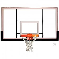 "Gared 42"" x 72"" Glass Rectangular Backboard (BB72G50)"