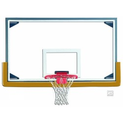 Gared LXP4200 Glass Backboard with Glass Retention System  (LXP4200CD)