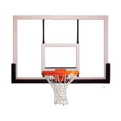 "Gared 42"" x 60"" Acrylic Rectangular Backboard with Alumunum Front (BB60A38)"