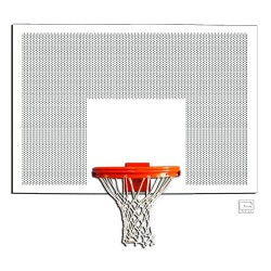 "Gared 42"" x 60"" Perforated Steel Rectangular Backboard (1260PS)"