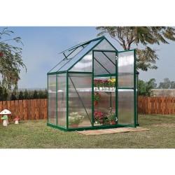 Palram 6x4 Mythos Greenhouse Kit - Green (HG5005G)