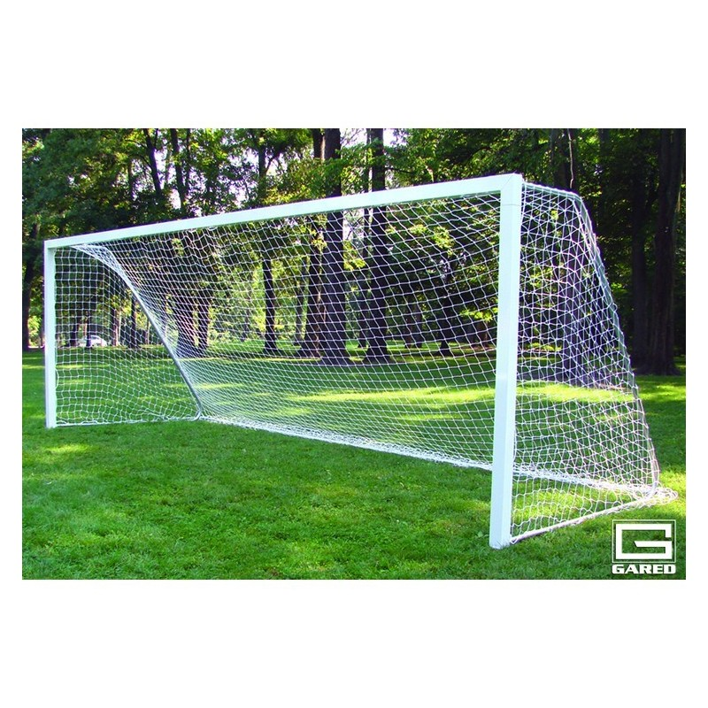 Gared All-Star I Touchline Soccer Goal, 6' x 12', Permanent, Square Frame (SG12612)