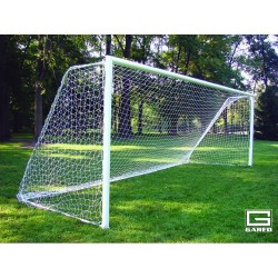 Gared All-Star II Touchline™ Soccer Goal, 7' x 21', Permanent, Round Frame (SG32721)