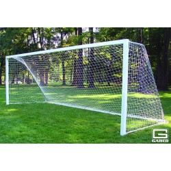 Gared Touchline Striker™ Soccer Goal, 8' x 24', Portable, Square Frame (SG10824S)