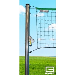 "Gared 3-1/2"" O.D. SideOut™ Outdoor Volleyball Semi-Permanent Standards (ODVB35)"