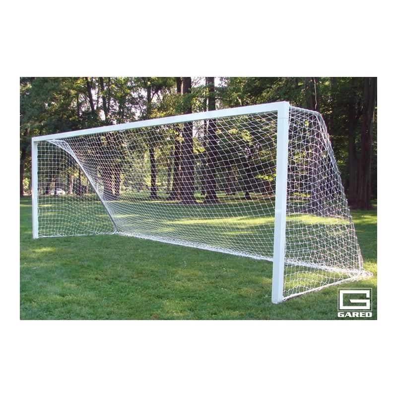 Gared Touchline Striker Soccer Goal, 7' x 21', Semi-Permanent, Square Frame (SG14721S)