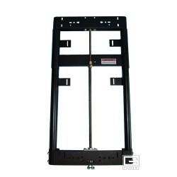 Gared Manual Adjust-a-Goal Height Adjuster for 3-1/2'' Diameter Dual Post Backstop for Rectangular Backboard (1142)