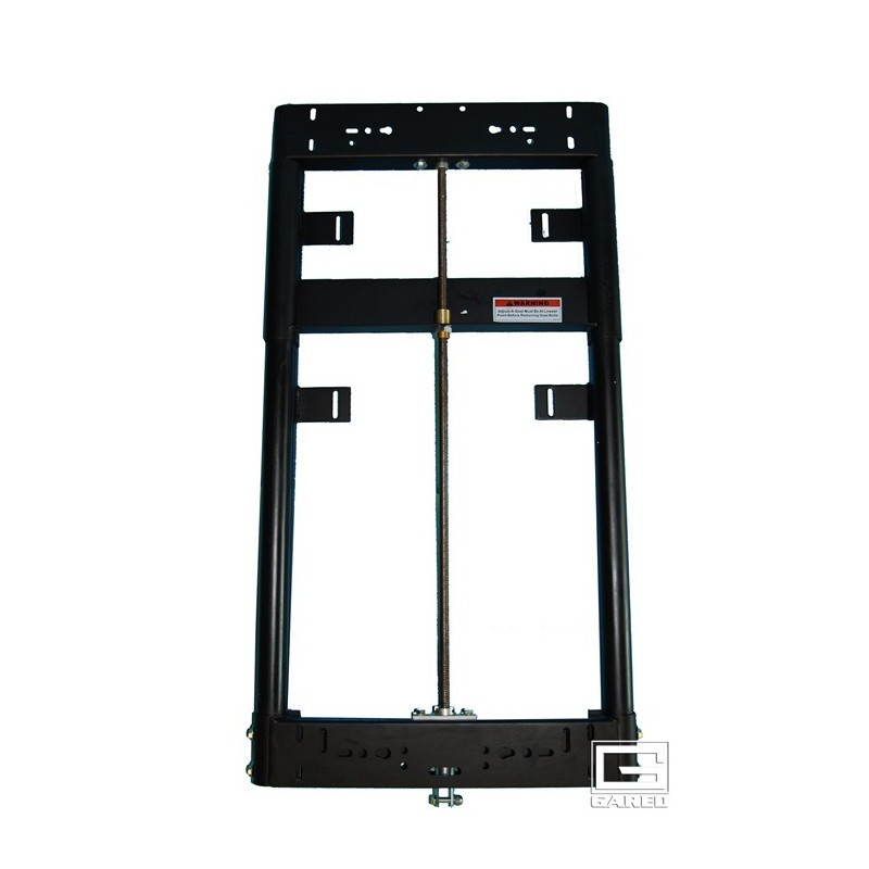 """Gared Manual Adjust-a-Goal™ Height Adjuster for 3-1/2"""" Diameter Dual Post Backstop for Backboard with 35"""" x 20"""" Mounting (1143)"""