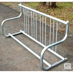 Gared 5' Traditional Single-Sided Bike Rack, 4 Bikes (BRT-5S)