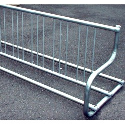 Gared 5' Traditional Double-Sided Bike Rack, 8 Bikes (BRT-5D)