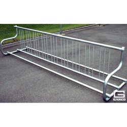 Gared 10' Traditional Single-Sided Bike Rack, 9 Bikes (BRT-10S)