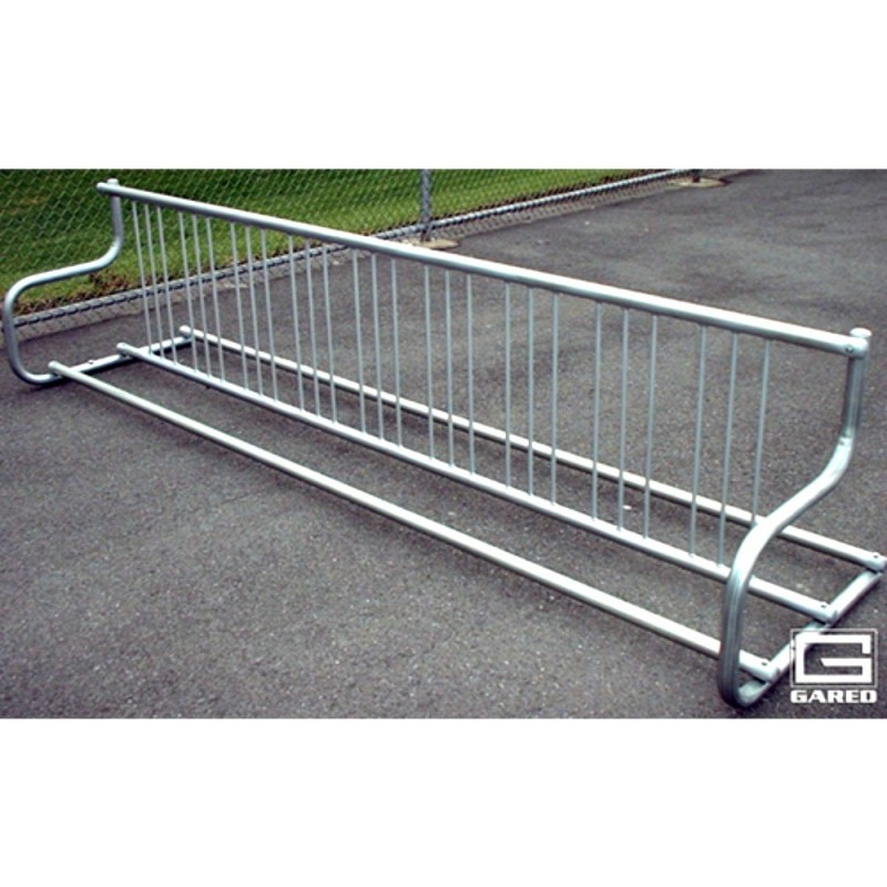 Gared  10' Traditional Double-Sided Bike Rack, 18 Bikes (BRT-10D)