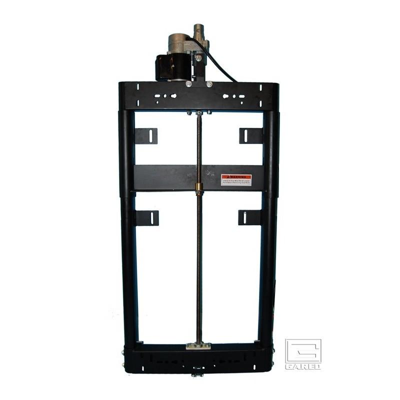 Gared Electric Adjust-a-Goal™ Height Adjuster for 3-1/2 Diameter Dual Post Backstop for Rectangular Backboard (1182)