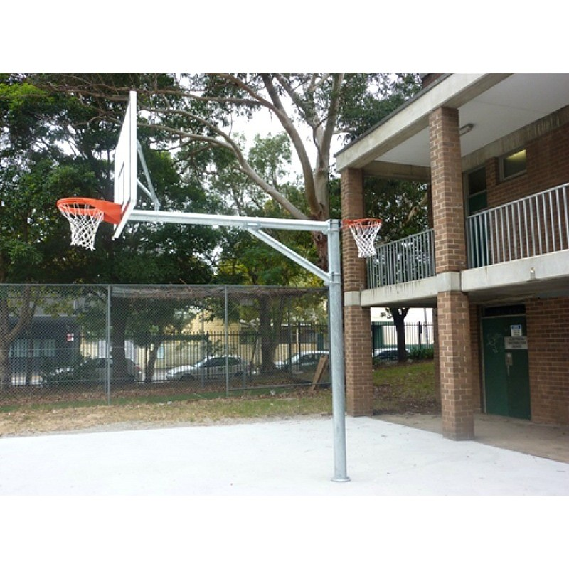 Gared HOOPLA™ Combo Netball/Basketball System (BNB24P)