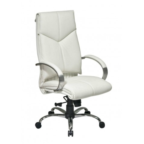 Pro Line II Deluxe High Back Chair - White (7270)