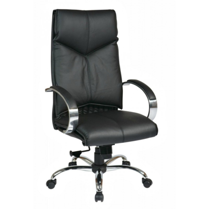 Pro Line II Deluxe High Back Chair - Black (8200)