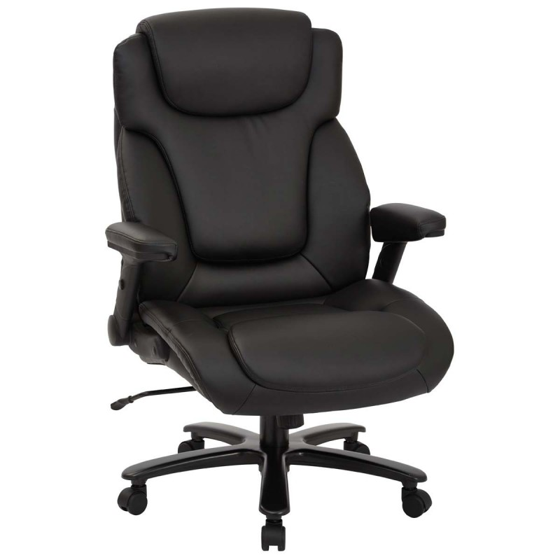 Pro Line II Big and Tall Deluxe High Back Executive Chair - Black (39203)