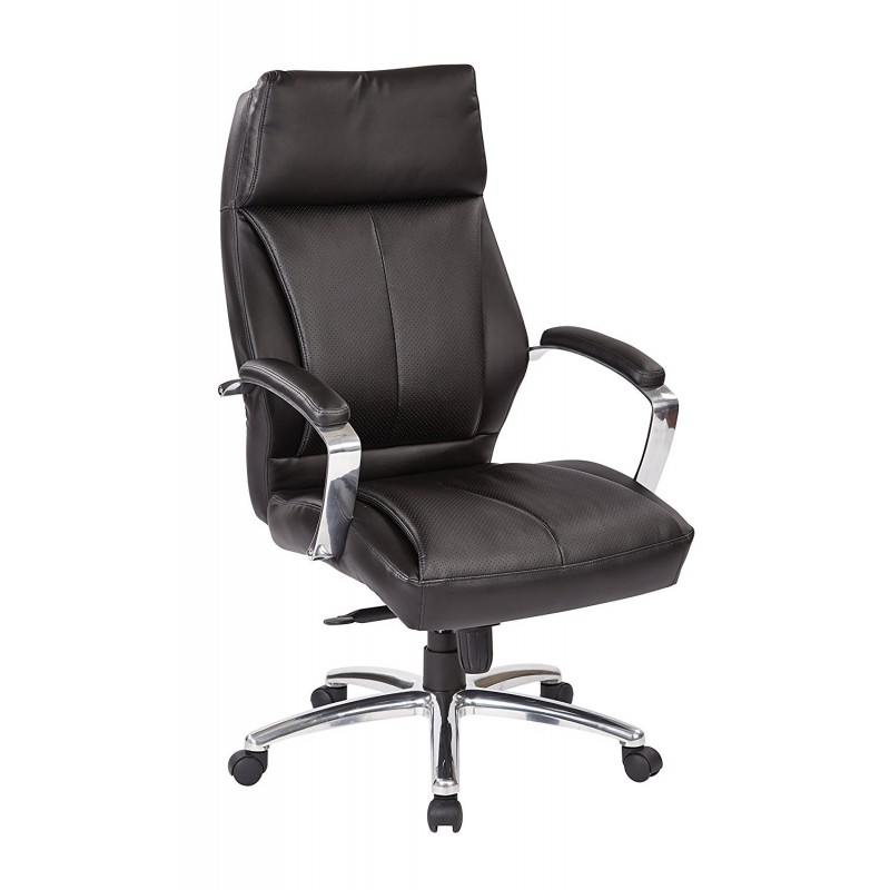 Pro Line II Deluxe High Back Executive Chair - Black (60310)