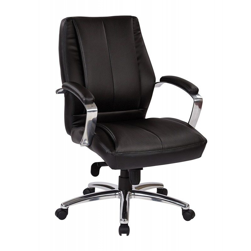 Pro Line II Deluxe High Back Executive Chair - Black (60311)